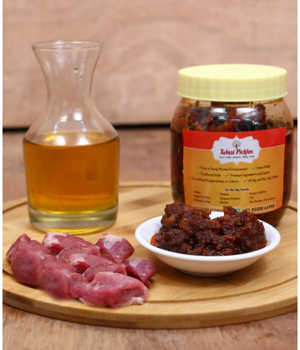 Mutton Pickle - 500 Grams