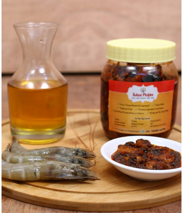 Prawns Pickle - 450 Gms